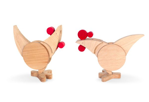 Chicok Hen and Rooster